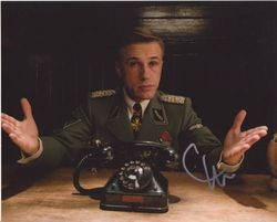 Christoph Waltz Autograph Inglourious Basterds signed in person 10x8
