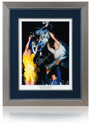 "Steve Perryman Hand Signed 16x12"" Tottenham Montage"