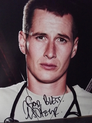 Fehr, Brendan - authentic autograph - Roswell