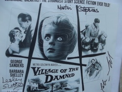 Village of the Dammed - authentic autographs