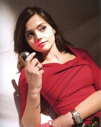 Jenna Louise Coleman Autograph Dr Who signed in person 10x8 photo