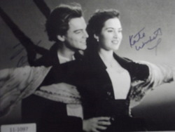 DiCaprio & Windslet  - authentic autographs