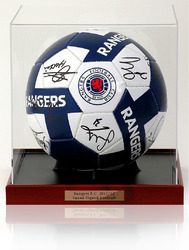 Glasgow Rangers 2011/12 Squad Hand Signed Football