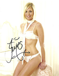 Jenni Falconer signed 10x8 photo.