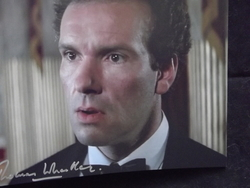 Wheatley, Thomas - The Living Daylights - 007 - Bond Original autograph - UACC Reg.Dealer #251
