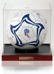 BOLTON WANDERERS 2011/12 Squad Hand Signed Football