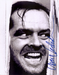 Jack Nicholson signed 10x8 photo.