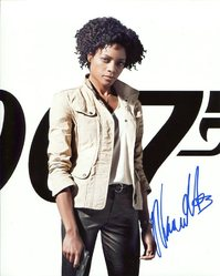 Naomi Harris AUTOGRAPH Skyfall SIGNED IN PERSON 10x8 Photo