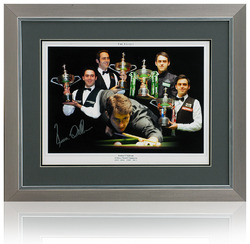 Ronnie O'Sullivan Signed Montage