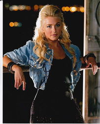 Julianne Hough Signed Rock Of Ages 10x8 Photo