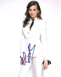 Camilla Belle signed 10x8 photo