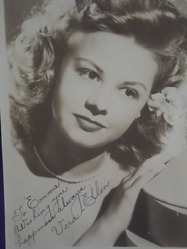 Ellen, Vera - authentic autograph