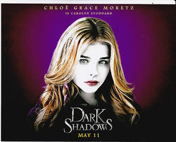 Chloe Grace Moretz Autograph DARK SHADOWS signed in person 10 x 8 photo