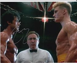 Sylvester Stallone Autograph ROCKY signed in person 10x8 photo