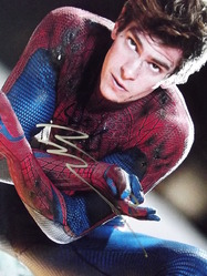 Garfield, Andrew - authentic autograph - Spiderman