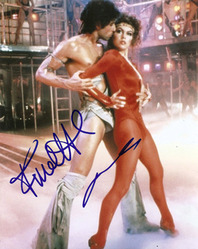 Flash Dance signed 10x8 photo.