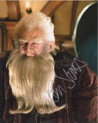 Ken Stott Autograph THE HOBBIT - BALIN signed in person 10x8 photo