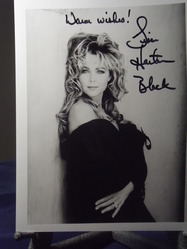 Black, Lisa Hartman - 2  - authentic autograph