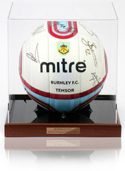 Burnley F.C. 2013/14 Squad Hand Signed Ball Football