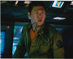 Benedict Wong Signed Prometheus 10x8 Photo