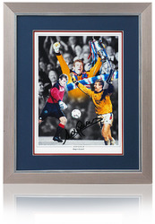 "Andy Goram hand signed 16X12"" Glasgow Rangers FC montage"