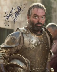 Ian Beattie AUTOGRAPH Game Of Thrones SIGNED IN PERSON 10x8 photo