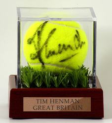 Tim Henman 'HAND SIGNED' Tennis Ball
