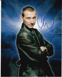 Christopher Ecclestone Signed Doctor Who 10x8 Photo