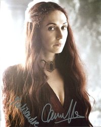 Carice Van Houten AUTOGRAPH Game Of Thrones SIGNED IN PERSON 10x8 Photo