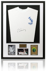 Peter Lorimer Hand Signed Leeds United 1972 Framed Shirt