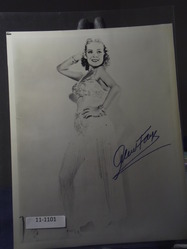 Fay, Alice - authentic autograph