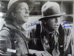 Knotts, Don & Conway, Tim - authentic autograph - The Apple Dumpling Gang