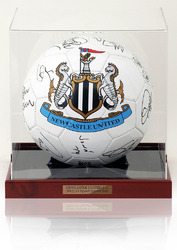 Newcastle United 2012/13 Squad Hand Signed Football