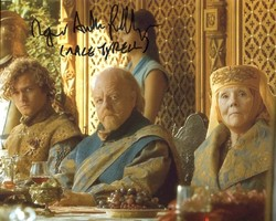 Roger Ashton-Griffiths AUTOGRAPH Game Of Thrones SIGNED IN PERSON 10x8 Photo