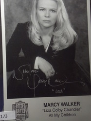 Walker, Marcy  - authentic autograph