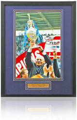 "Steve Coppell Hand Signed 12x8"" Reading F.C. Framed Photo"