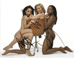 Sugababes signed 10x8 photo
