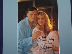 Hugh and Kimberly Hefner