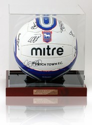 Ipswich Town F.C. 2011/12 Squad Hand Signed Ball