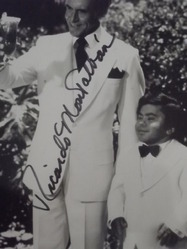 Montalban, Ricardo - authentic autograph
