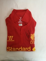 Jamie Carragher Signed Liverpool SHirt