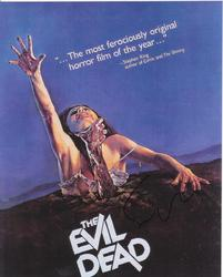 Sam Raimi AUTOGRAPH The Evil Dead SIGNED IN PERSON 10x8 photo
