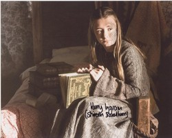 Kerry Ingram Autograph Game Of Thrones signed in person 10x8 photo