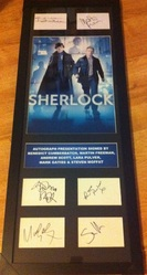 Sherlock Presentation Signed by 6