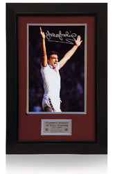 Trevor Brooking Hand Signed West Ham Utd Presentation