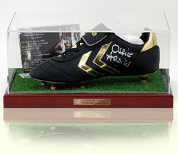 Ossie Ardiles Hand Signed Football Boot