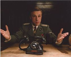 Christoph Waltz AUTOGRAPH Inglorious Basterds SIGNED IN PERSON 10x8