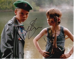 Will Poulter & Bill Milner Signed Son Of Rambow 10x8 Photo