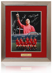 Shankly's Heroes hand signed by 6 Anfield Legends
