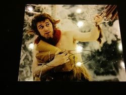 James McAvoy Autograph The Chronicles of Narnia: The Lion, the Witch and the Wardrobe signed in person 10 x 8 photo
